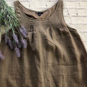 EUC, GAP pleated dress, Sz. 8
